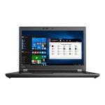 "ThinkPad P72 20MB - Xeon E-2176M / 2.7 GHz - Win 10 Pro for Workstations 64-bit - 16 GB RAM - 512 GB SSD TCG Opal Encryption 2, NVMe - 17.3"" IPS 1920 x 1080 (Full HD) - Quadro P4200 / UHD Graphics P630 - Wi-Fi, Bluetooth - black"