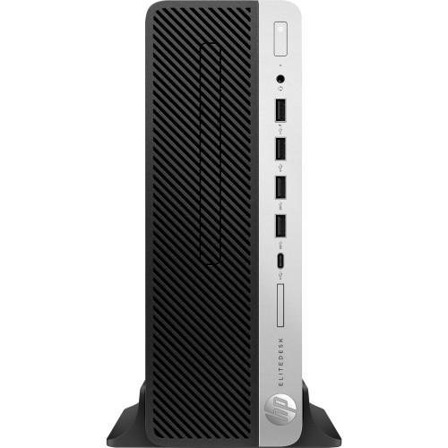 PCMG | HP Inc , Smartbuy EliteDesk 705 SFF AMD Ryzen 7 Pro 2700 GHz 8C 65w  CPU, 8GB (1x8GB) DDR4-2666 NECC UNB, 1 TB 7200 RPM, AMD Radeon R7 430 2GB