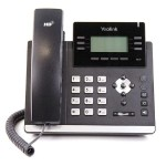 Skype for Business HD IP Phone T41P - VoIP phone - SIP, SIP v2 - 6 lines