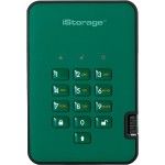 500GB diskAshur2 USB 3.1 Portable Encrypted Hard Drive - Racing Green