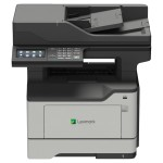 MB2546adwe - Multifunction printer - B/W - laser - 8.5 in x 14 in (original) - A4/Legal (media) - up to 44 ppm (copying) - up to 44 ppm (printing) - 350 sheets - 33.6 Kbps - USB 2.0, Gigabit LAN, Wi-Fi(n), USB 2.0 host