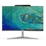 """Aspire Z24-890-UR11 All-in-One PC - 8th Gen Intel Core i5-8400T 1.7GHz - 16GB Intel Optane Memory + 8GB DDR4 - 1TB HDD - 23.8"""" LED 1920x1080(FHD) - DVD-RW - 2x HDMI - Win 10 Home 64-bit"""