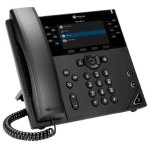Poly VVX 450 Business IP Phone - VoIP phone - SIP, SDP - 12 lines