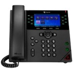 VVX 450 Twelve-Line Business IP Desk Phone - OBi Edition with Power Supply
