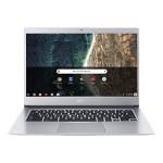 "Chromebook 514 CB514-1H-C11Z - Celeron N3450 / 1.1 GHz - Chrome OS - 4 GB RAM - 32 GB eMMC - 14"" IPS 1920 x 1080 (Full HD) - HD Graphics 500 - Wi-Fi, Bluetooth - pure silver - kbd: US"