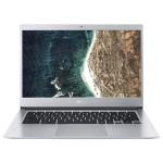 "Chromebook 514 CB514-1HT-P2D1 - Pentium N4200 / 1.1 GHz - Chrome OS - 8 GB RAM - 64 GB eMMC - 14"" IPS touchscreen 1920 x 1080 (Full HD) - HD Graphics 505 - Wi-Fi, Bluetooth - pure silver - kbd: US"