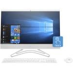 "24-f0060 All-in-One Desktop PC - Intel Core i5-8250U (Kabylake-R) 1.6 GHz, 12 GB RAM, 1 TB HDD, DVD Writer, Gigabit Ethernet, WLAN, Bluetooth 4.2 M.2, Intel UHD Graphics 620, 23.8"" Touchscreen (1920x1080) Display, Windows 10 Home 64-bit - Refurbished"