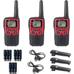 X-Talker T31 22-Channel Two-Way UHF Radio (Pack of 3)