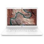 "Chromebook 14-db0070nr - A4 9120C / 1.6 GHz - Chrome OS - 4 GB RAM - 32 GB eMMC - 14"" touchscreen 1366 x 768 (HD) - Radeon R4 - Bluetooth, Wi-Fi - snow white, textured finish - kbd: US"