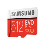 512GB MicroSDXC EVO Plus Memory Card w/Adapter