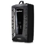 1000VA/530W PC Battery Backup UPS - 12 Outlets (6 surge, 6 surge + battery backup), NEMA 5-15P 5ft Cord - Refurbished
