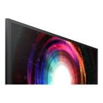 """U28H750UQN - UH75 Series - QLED monitor - 28"""" (27.9"""" viewable) - 3840 x 2160 4K - TN - 300 cd/m² - 1000:1 - 1 ms - 2xHDMI, DisplayPort - black, silver"""