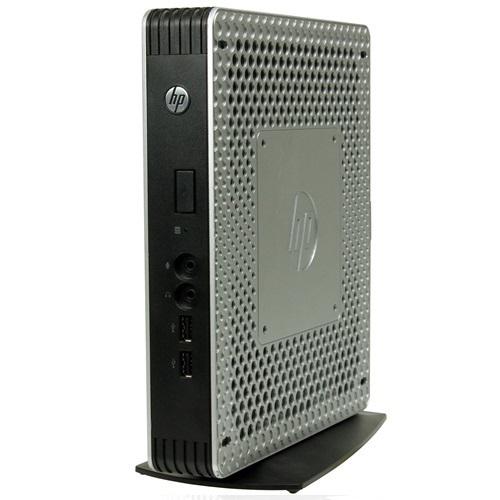 HP Inc  T610 Thin Client AMD G-T65N-1650 Dual-Core 1 70GHz Mini PC - 4GB  RAM, 16GB SSD, Gigabit Ethernet, No ODD, Windows 10 Pro 64-bit - Grade A