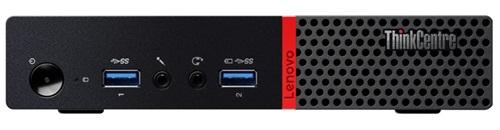 Lenovo ThinkCentre M700 Intel Core i5-6500T Quad-Core 2 50GHz Tiny Desktop  PC - 12GB DDR4 RAM, 256GB SSD, No ODD, Gigabit Ethernet, Windows 10 Pro