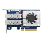 QXG-10G2SF-CX4 - Network adapter - PCIe 3.0 x8 low profile - 10 Gigabit SFP+ x 2