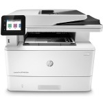 "LaserJet Pro MFP M428fdn Printer - Print/Copy/Scan/Fax, B/W, 1200x1200 dpi, Up to 40 ppm, Auto Duplex Printing, 50-sheet ADF, 2 Paper Trays (standard), USB 2.0, GbE, 512MB, 2.7"" Intuitive Color Touchscreen CGD Display, HP Smart App"