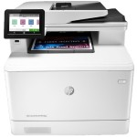 """Color LaserJet Pro MFP M479fdw Printer - Print/Copy/Scan/Fax/Email, Up to 28 ppm, 600 x 600 dpi, A4/Legal (media), 512MB, Flatbed, ADF, 4.3"""" Intuitive Touchscreen Color (CGD) Display, 300 sheets, Gigabit Ethernet, Wi-Fi, USB 2.0"""