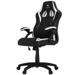 HHGears SM-115 Gaming Racing Chair - Black/White