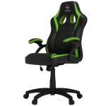 HHGears SM-115 Gaming Racing Chair - Black/Green