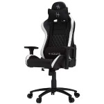HHGears XL-500 PC Gaming Racing Chair - Black/White