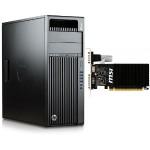 Z440 Intel Xeon E5-1630v4 Quad-Core 3.70GHz Workstation with MSI NVIDIA GeForce GT 710 Graphics Card - 16GB (2X8GB) RAM, 256GB SSD, Windows 10 Pro 64-bit
