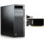 Z440 Intel Xeon E5-1607v4 Quad-Core 3.10GHz Workstation - 8GB RAM, 256GB SSD, Windows 10 Pro 64-bit with MSI NVIDIA GeForce GT 710 Graphics Card