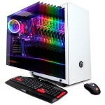 Gamer Xtreme GXi1280 with Intel Core i5-9600KF 6-Core 3.70GHz CPU, 16GB DDR4 RAM, NVIDIA GeForce GTX 1650 4GB, 512GB PCI-E NVMe SSD, 802.11ac WiFi, USB Gaming Keyboard, 7 Color RGB Gaming Mouse, Windows 10 Home 64-bit
