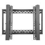 "Pop-Out Video Wall Mount w/Security for 45"" to 70"" TVs and Monitors - Flat Screens, UL Certified - Wall mount for TV and monitor - lockable - steel - black - screen size: 45""-70"""