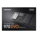 970 EVO Series 500GB PCIe NVMe M.2 Internal SSD
