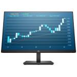 "P244 - LED monitor - 23.8"" (23.8"" viewable) - 1920 x 1080 Full HD (1080p) - IPS - 250 cd/m² - 1000:1 - 5 ms - HDMI, VGA, DisplayPort - black"