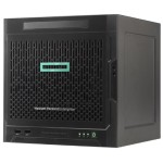 ProLiant MicroServer Gen10 - Ultra Micro Tower, 1x AMD Opteron X3418 Quad-Core 1.80GHz, 2MB L2, 8GB DDR4, 4x LFF SATA Non-Hot Plug Drives Supported, 2 PCIe 3.0, Broadcom 5720 Dual port, Built-in Power Supply