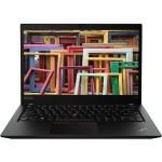 """ThinkPad T490s 20NX - Core i5 8365U / 1.6 GHz - Win 10 Pro 64-bit - 8 GB RAM - 256 GB SSD TCG Opal Encryption 2, NVMe - 14"""" IPS 1920 x 1080 (Full HD) - UHD Graphics 620 - Wi-Fi, Bluetooth - WWAN upgradable - black - kbd: US"""