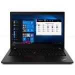 """ThinkPad P43s 20RH - Core i7 8565U / 1.8 GHz - Win 10 Pro 64-bit - 16 GB RAM - 512 GB SSD TCG Opal Encryption 2, NVMe - 14"""" IPS 1920 x 1080 (Full HD) - Quadro P520 / UHD Graphics 620 - Wi-Fi, Bluetooth - black - kbd: US"""