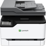 """MC3326ADWE Color Laser Multifunction - Print, Copy, Scan, Fax, 26ppm Black & Color, 600x600 dpi, Duplex (2-sided Printing), Ethernet & Wireless Networking, 1GHz Dual-Core CPU, 512MB, 2.8"""" e-Task Touchscreen Display, Up to 50K Pages Monthly Duty Cycle"""