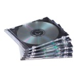 NEATO - Storage CD slim jewel case - capacity: 1 CD, 1 DVD (pack of 100)