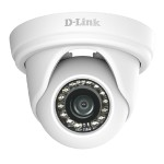 Vigilance DCS-4802E Full HD Outdoor PoE Mini Dome Camera - Network surveillance camera - pan / tilt - outdoor, indoor - weatherproof - color (Day&Night) - 2 MP - 1920 x 1080 - 1080p - LAN 10/100 - MJPEG, H.264, H.265 - DC 12 V / PoE Class 2