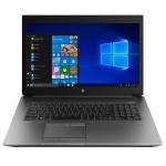 "ZBook 17 G6 Mobile Workstation - Core i7 9850H / 2.6 GHz - Win 10 Pro 64-bit - 16 GB RAM - 512 GB SSD NVMe - 17.3"" touchscreen 3840 x 2160 (Ultra HD 4K) - Quadro RTX 3000 / UHD Graphics 630 - Bluetooth, Wi-Fi - kbd: US"