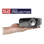 S2 Pico Projector - DLP projector - RGB LED - 400 lumens - 1280 x 720 - 16:9 - 720p