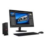 ThinkStation P330 30CF - Tiny - 1 x Core i7 9700T / 2 GHz - RAM 32 GB - SSD 1.024 TB - TCG Opal Encryption - Quadro P1000 / UHD Graphics 630 - GigE, Bluetooth 5.0 - WLAN: 802.11ac, Bluetooth 5.0 - Win 10 Pro 64-bit - monitor: none - keyboard: US