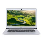 "Chromebook 14 CB3-431-C0MZ - Celeron N3160 / 1.6 GHz - Chrome OS - 4 GB RAM - 16 GB eMMC - 14"" IPS 1920 x 1080 (Full HD) - HD Graphics 400 - Wi-Fi, Bluetooth - sparkly silver - kbd: US"