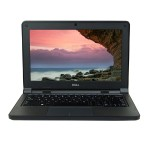 "Latitude 3150 Intel Celeron N2840 Dual-Core 2.16GHz  Notebook PC - 4GB DDR3L SDRAM, 128GB SSD, No Optical Drive, 11.6"" HD Display, Intel HD Graphics, 10/100/1000 Ethernet, 802.11 a/b/g/n/ac, Windows 10 Home 64-Bit, 1 Year Warranty, Grade B Refurbished"