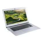 "Chromebook 14 CB3-431-12K1 - Atom x5 E8000 / 1.04 GHz - Chrome OS - 4 GB RAM - 32 GB eMMC - 14"" TN 1366 x 768 (HD) - HD Graphics - Wi-Fi, Bluetooth - sparkly silver - kbd: US"