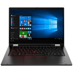 "ThinkPad L13 Yoga 20R5 - Flip design - Core i5 10210U / 1.6 GHz - Win 10 Pro 64-bit - 8 GB RAM - 256 GB SSD TCG Opal Encryption 2, NVMe - 13.3"" IPS touchscreen 1920 x 1080 (Full HD) - UHD Graphics - Wi-Fi, Bluetooth - black - kbd: US"