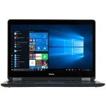 "Latitude E7470 Intel Core i5-6300U Dual-Core 2.40GHz Notebook PC - 8GB RAM, 256GB SSD, 14"" HD Display, Webcam, No ODD, Wi-Fi, Windows 10 Pro 64-bit - Grade A Refurbished"