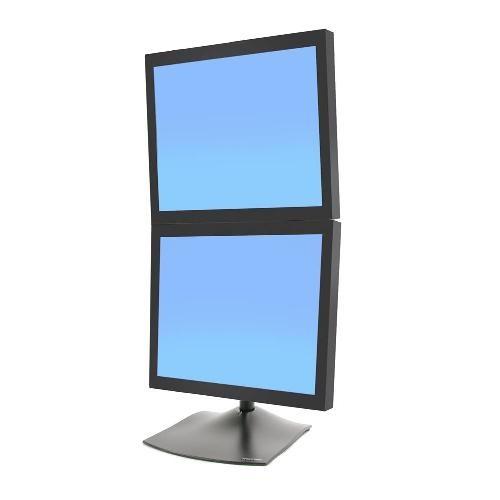 Macmall Ergotron Ds100 Dual Monitor Desk Stand Vertical