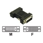 DVI-D M/F Port Saver Adapter - DVI adapter - DVI-D (M) to DVI-D (F) - white
