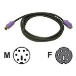 Cables To Go Ultima - Keyboard extension cable - PS/2 (F) to PS/2 (M) - 6 ft - charcoal 29613
