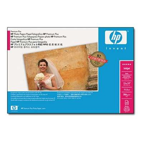 HP Premium Plus Satin Photo Paper - 24 in x 50 ft