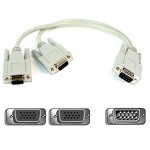 PRO Series - VGA splitter - HD-15 (M) to HD-15 (F) - 1 ft