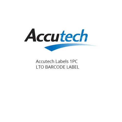 Accutech Labels SHEET OF 20 LTO BARCODE LABELS